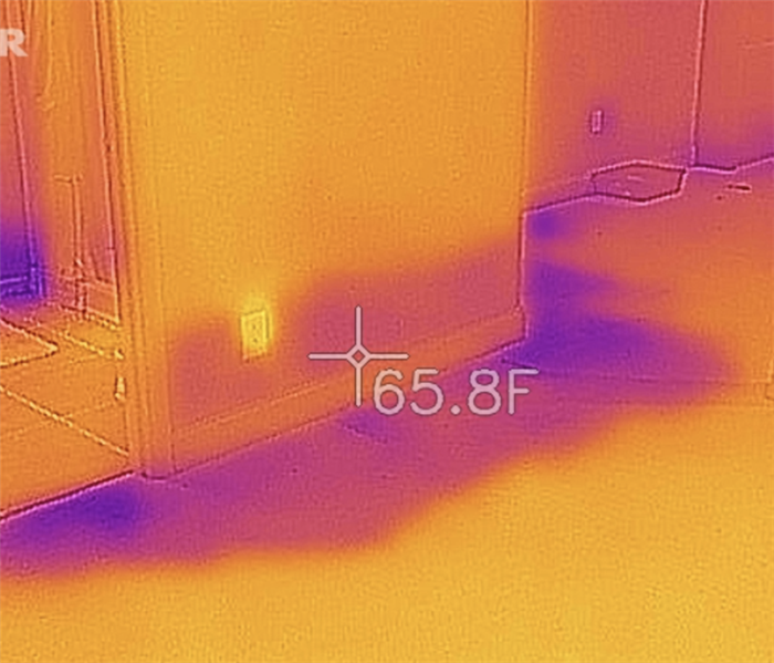 Thermal Camera to Locate Moisture