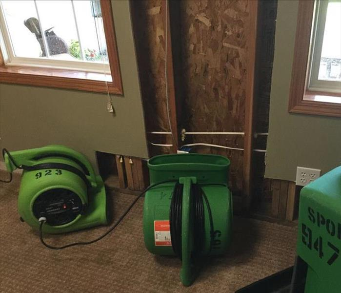 Water Damage in Leawood, KS, Home