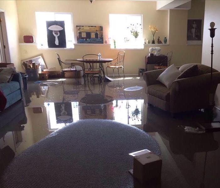 Water Damage Faster to your Blue Valley Water Damage Event
